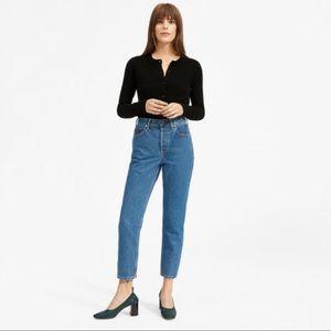 Everlane High Rise Straight Jean
